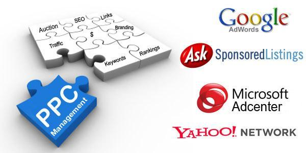 Pay per click management and advertising